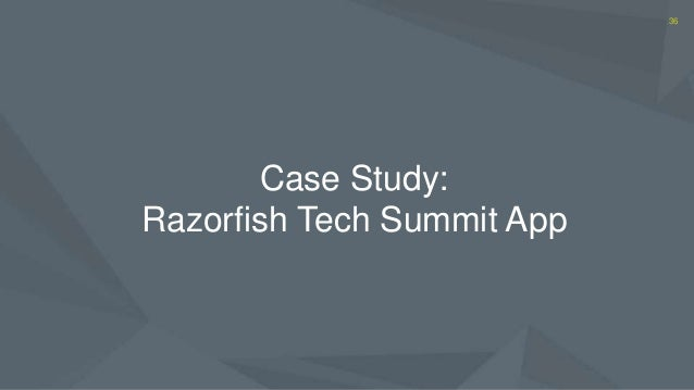 razorfish case Razorfish made a name and a mint dealing digital edge to wired staff wired staff 09 the creepy genetics behind the golden state killer case more stories.