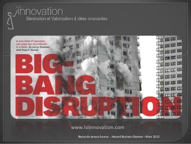 www.lslinnovation.com Revue de presse Source : Havard Business Review – Mars 2013