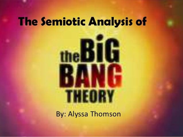 Big Bang Semiotics