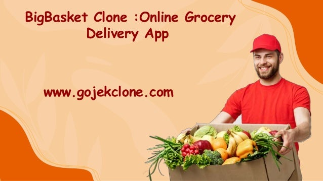 BigBasket Clone :Online Grocery Delivery App www.gojekclone.com