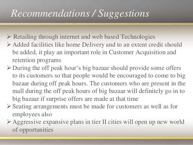 big bazaar strategy