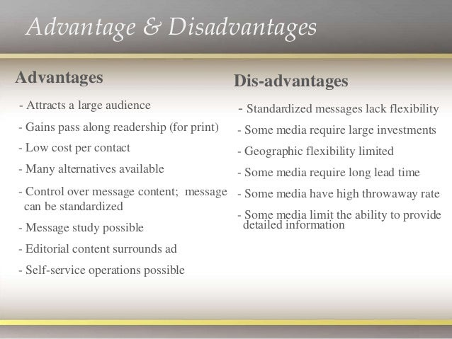 essay on advertisements advantages and disadvantages