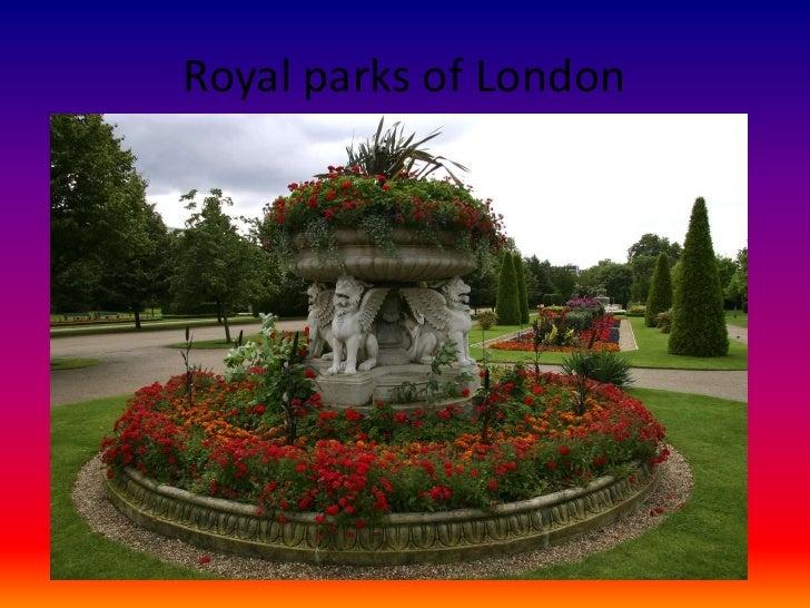 Royal parks of London<br />