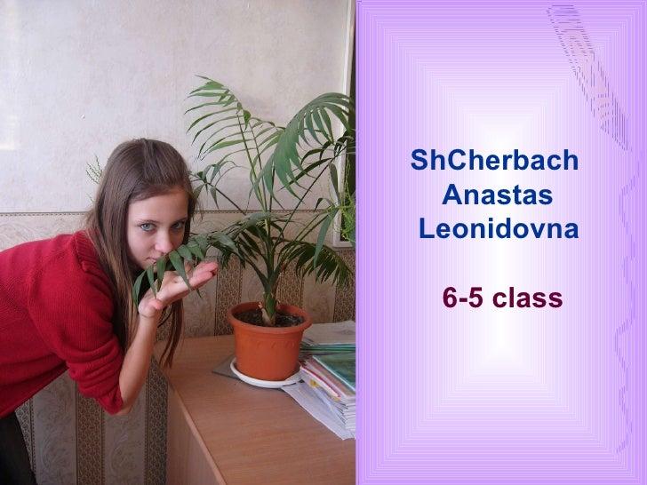 ShCherbach  Anastas  Leonidovna 6-5  class