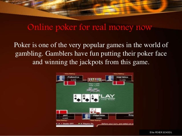 online slots for real money jetztspielen poker