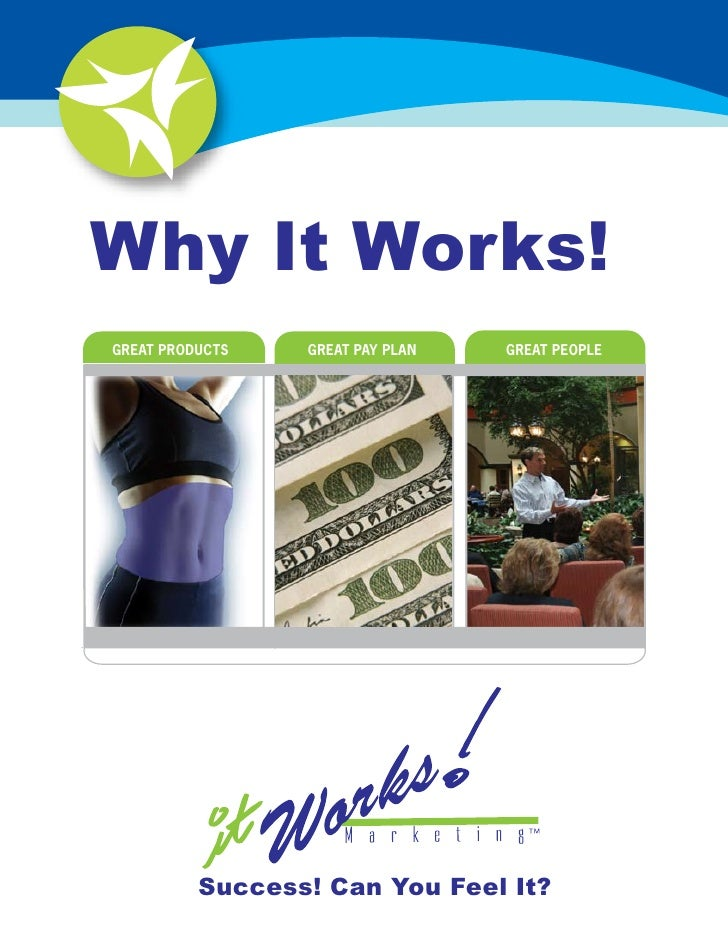 Why It Works! 2007 Distributor Guide and Glossary GREAT PRODUCTS   GREAT PAY PLAN   GREAT PEOPLE               Success! Ca...