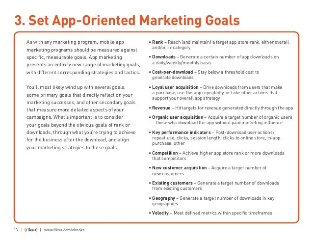 13 3 Set App Oriented Marketing