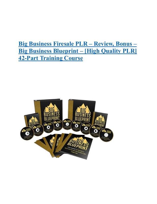Big business firesale plr review bonus big business blueprint big business firesale plr review bonus big business blueprint high quality malvernweather Image collections