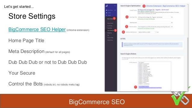 BigCommerce SEO Slide 3