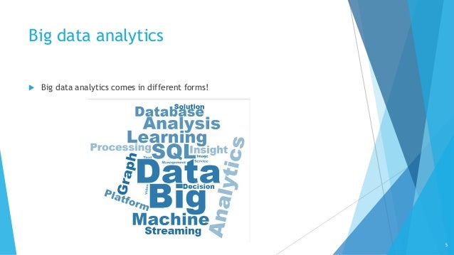 Big Data Analytics: From SQL to Machine Learning and Graph