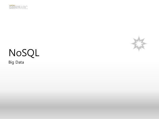 NoSQL Big Data