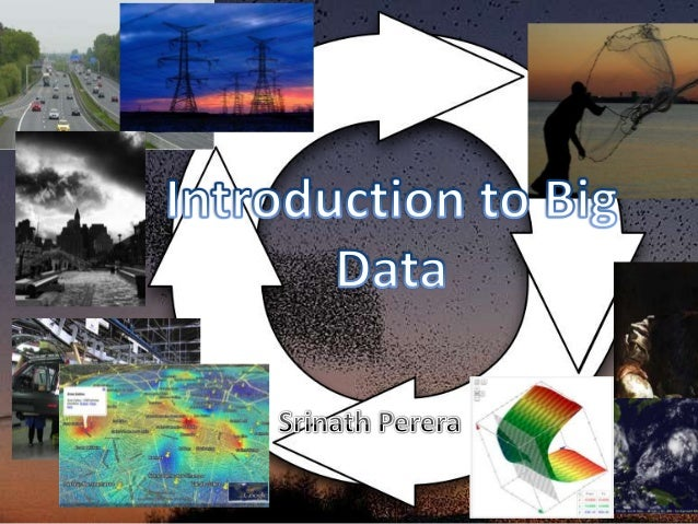 Outline• Forecasts andWhy Big data?• What is BigData?• Parts of thePuzzle• Quick Tutorial• ConclusionPhoto by John Trainor...