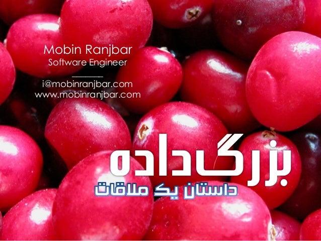 Mobin Ranjbar  Software Engineer _______ i@mobinranjbar.com www.mobinranjbar.com