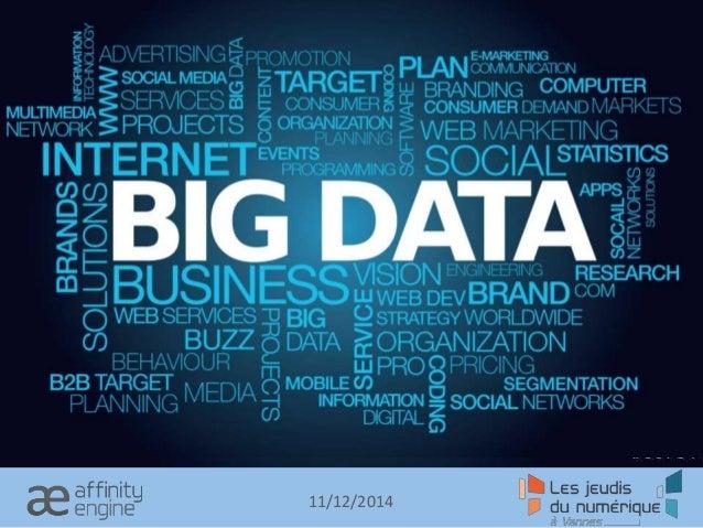 Big Data 11/12/2014
