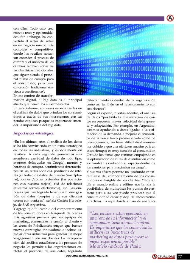 Las ventajas del Big Data por DOTComm Slide 2