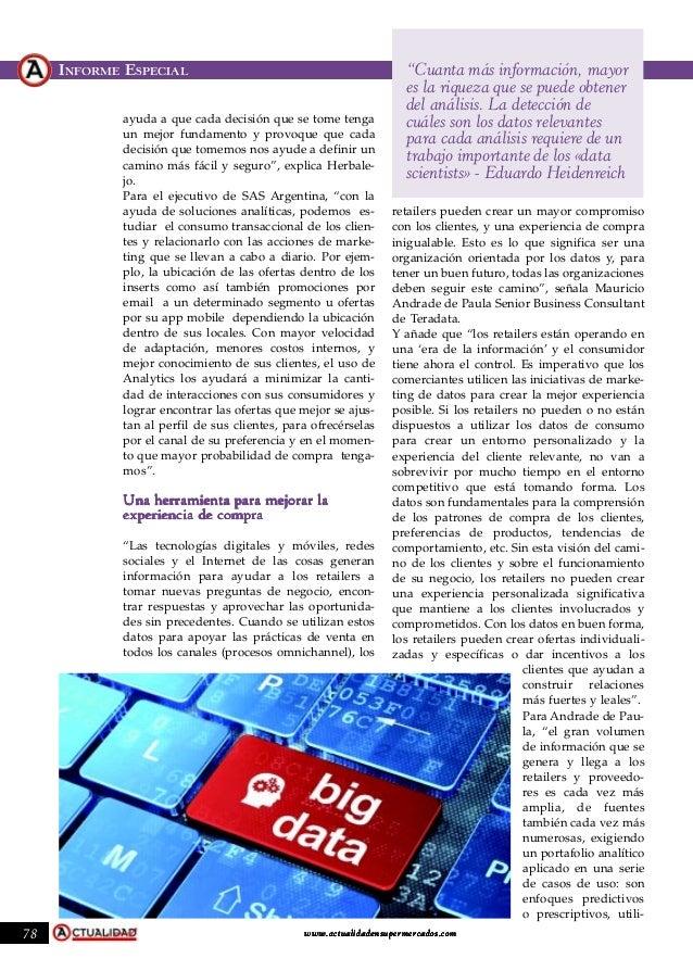 Las ventajas del Big Data por DOTComm Slide 3