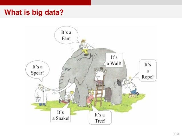 Big data 시대의 통계학  Slide 2