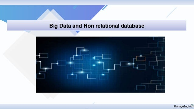 Discovery & mapping Big Data and Non relational database