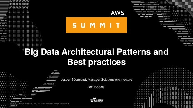 © 2015, Amazon Web Services, Inc. or its Affiliates. All rights reserved. Jesper Söderlund, Manager Solutions Architecture...