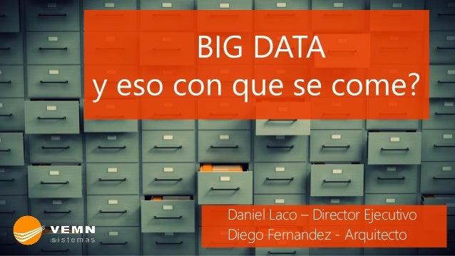 Daniel Laco – Director Ejecutivo Diego Fernandez - Arquitecto