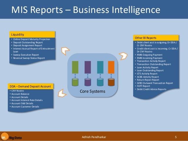 Regulatory Reporting using Big Data Tools