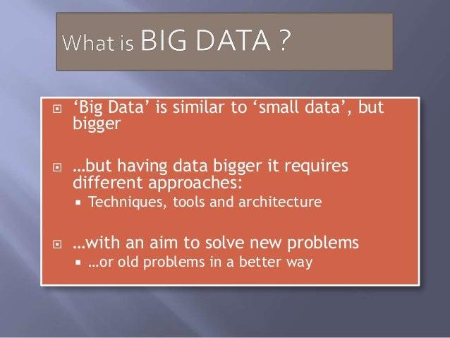 Big data/Data Mining/IoT/Smart City Slide 2