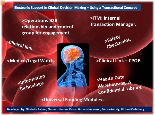Consumer Portal.>Operations B2B relationship and control group for engagement.>Clinical Link – CPOE.<Universal Funding Mod...
