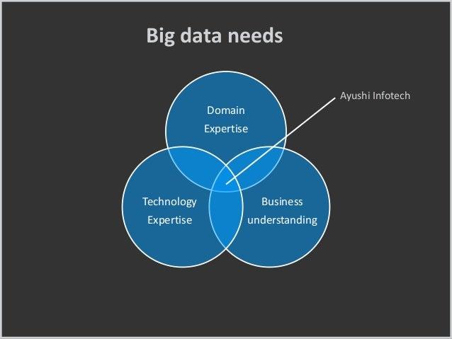 Domain Expertise Business understanding Technology Expertise Ayushi Infotech Big data needs