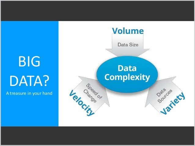 BIG DATA? A treasure in your hand
