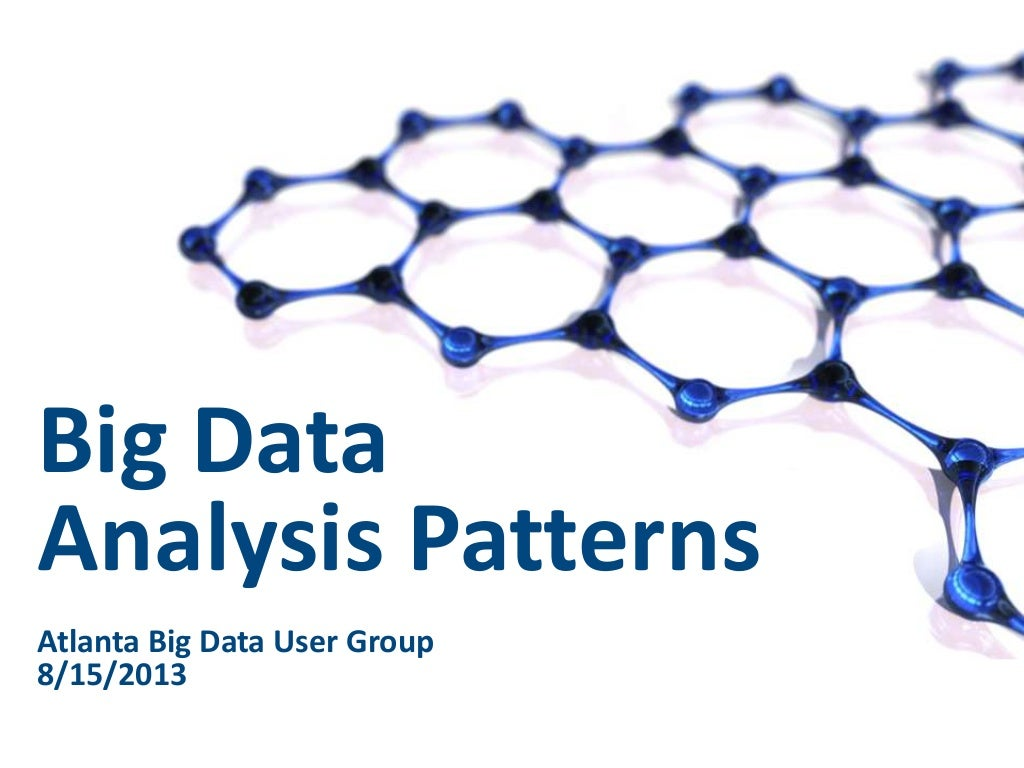 Big Data Analysis Patterns with Hadoop, Mahout and Solr