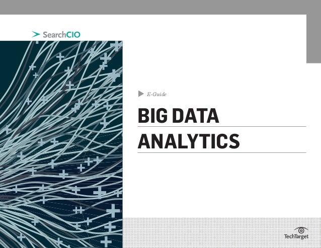 ▲  E-Guide  BIG DATA ANALYTICS