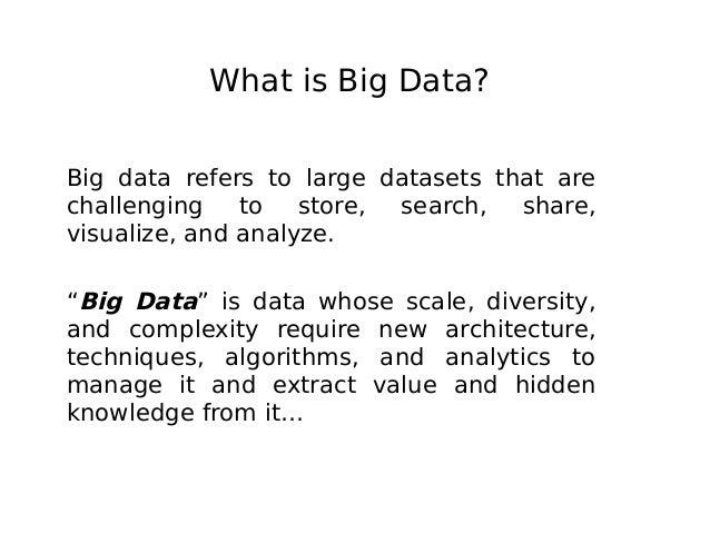 Big Data: Its Characteristics And Architecture Capabilities Slide 2