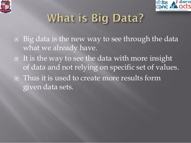 Big Data Analysis Pdf