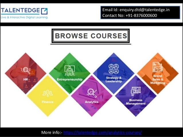 certification analytics