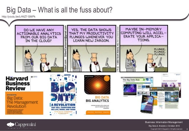 Big Data – What is all the fuss about? http://youtu.be/LrNlZ7-SMPk  Business Information Management Big Data & Analytics |...