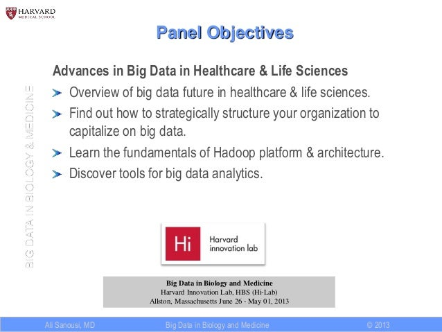 Big Data Analytics in Healthcare and Life Sciences Slide 2