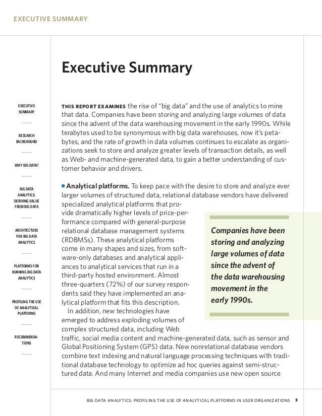 Executive summary resume examples. Executive summary template for.