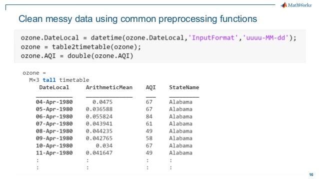 Big Data Analytics With MATLAB