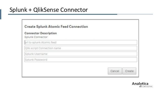 Big Data Analytics with Qlik & Splunk, Qlik Qonnections