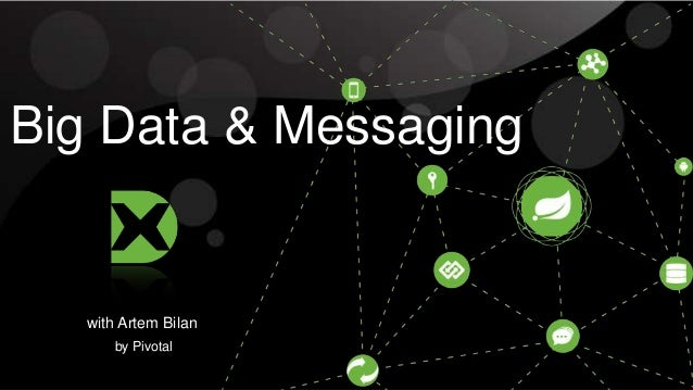 Big Data & Messaging  with Artem Bilan by Pivotal © 2013 Pivotal Inc. All rights reserved. Do not distribute without permi...