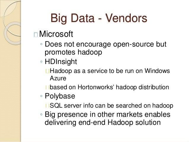 Big data architectures