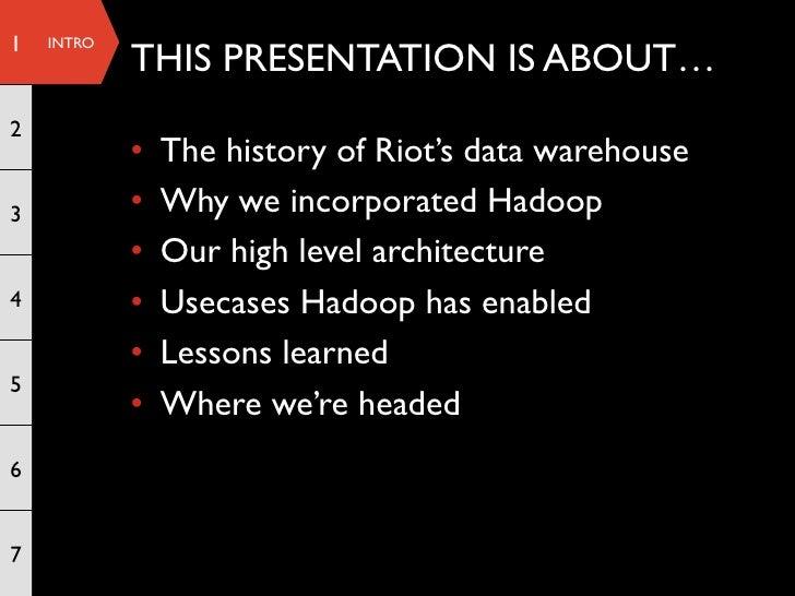 Big Data At Riot Games