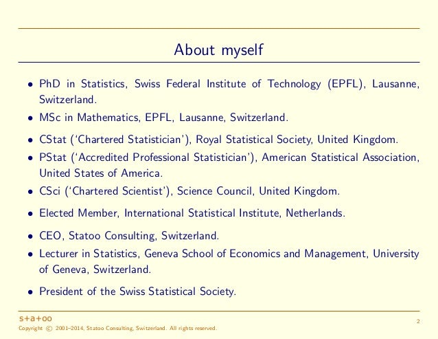 A Statistician's View on Big Data and Data Science (Version 2) Slide 3