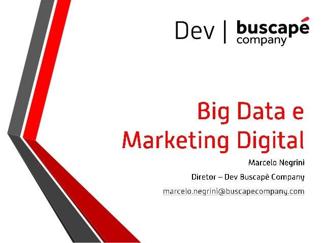 SMBr2013 | Big data e marketing digital