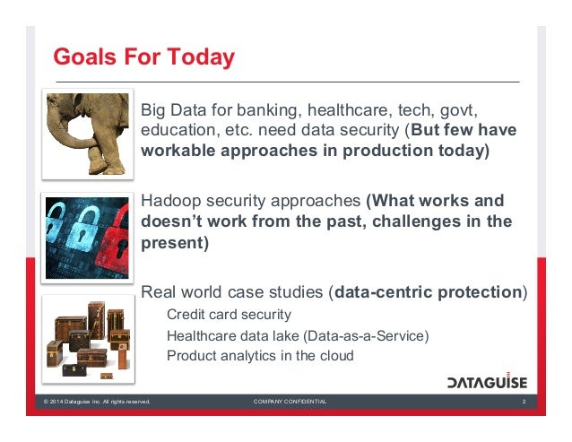 Big Data Everywhere Chicago: The Big Data Imperative -- Discovering & Protecting Sensitive Data in Hadoop (Dataguise)  Slide 2
