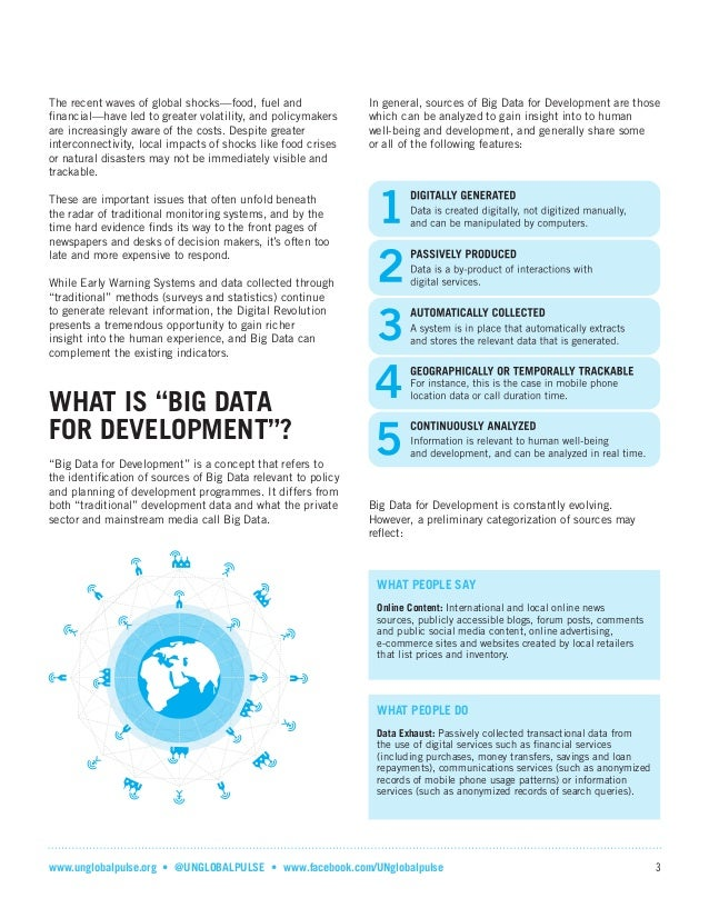 Big Data For Development A Primer Slide 3