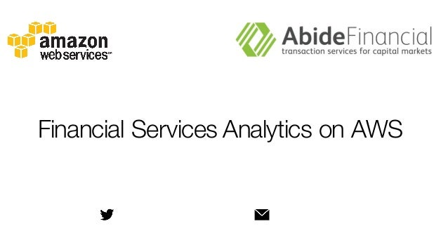 Financial Services Analytics on AWS