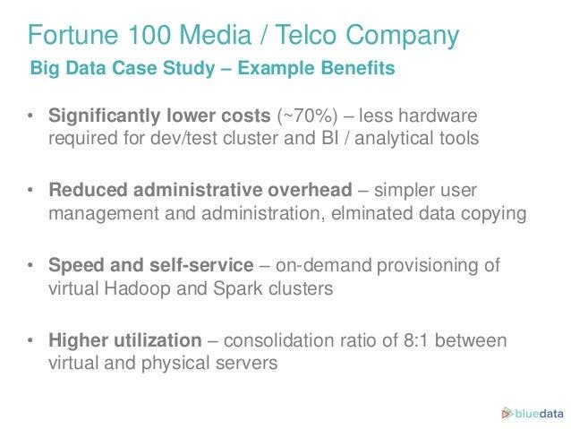 Big Data Case Study: Fortune 100 Telco