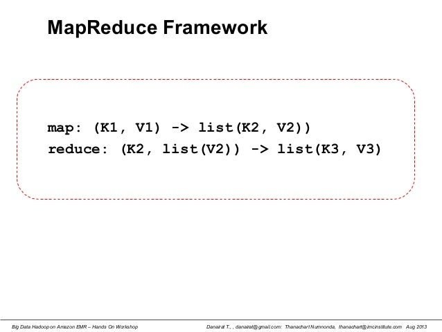 Big Data Hadoop using Amazon Elastic MapReduce: Hands-On Labs