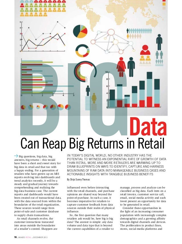 technologyBig   Can Reap Big Returns in Retail    Big questions, big data, biganswers, big returns – this wouldhave been a...